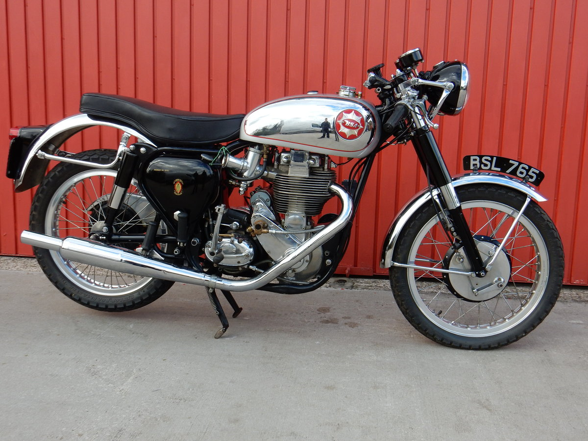 BSA Gold Star DBD34 1961 500cc Original Factory Frame & Engi For Sale (picture 1 of 3)