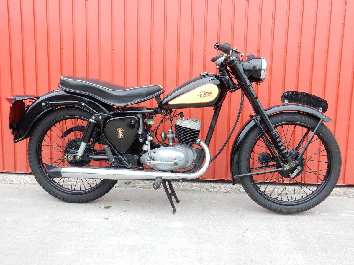 BSA Bantam Major D3 1957 150cc For Sale (picture 1 of 2)