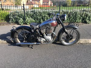 Bsa m20 1950 rigid teles exchange Harley Davidson