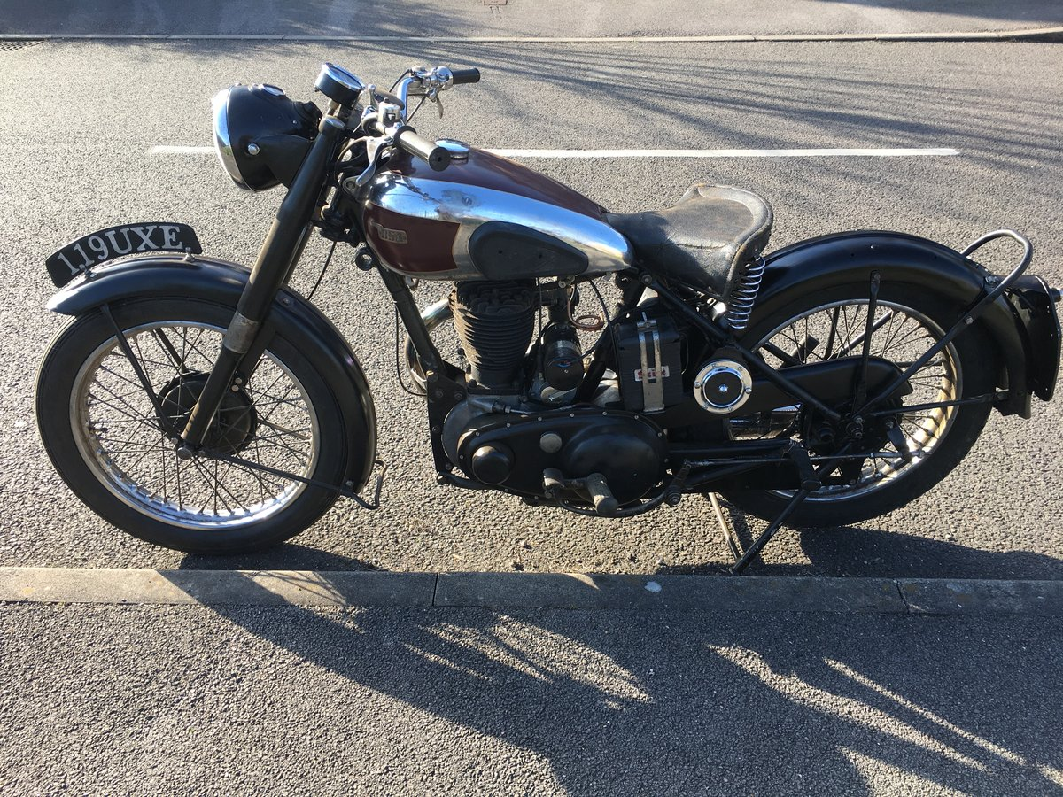 Bsa m20 1950 rigid teles exchange Harley Davidson  For Sale (picture 2 of 6)