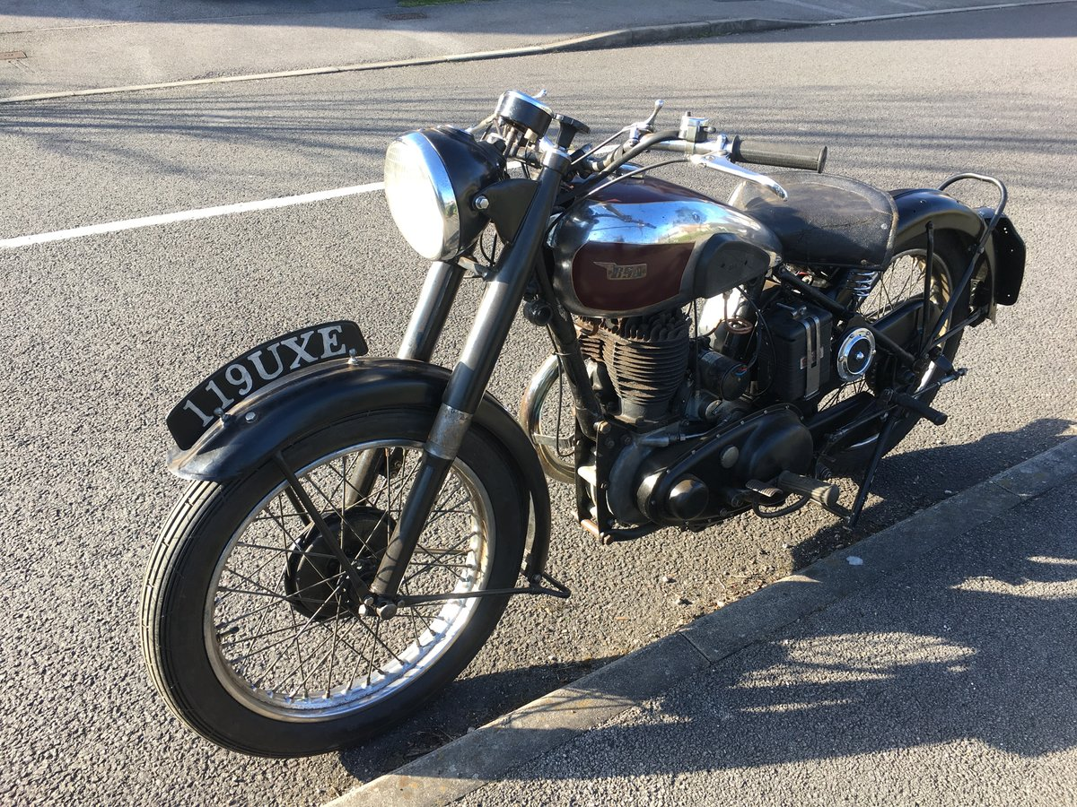 Bsa m20 1950 rigid teles exchange Harley Davidson  For Sale (picture 3 of 6)