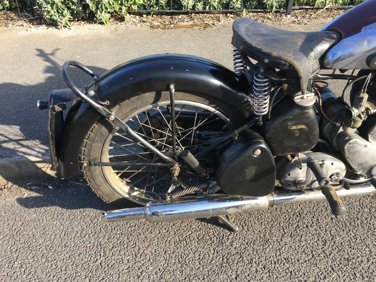 Bsa m20 1950 rigid teles exchange Harley Davidson  For Sale (picture 5 of 6)