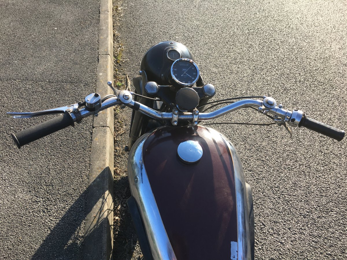 Bsa m20 1950 rigid teles exchange Harley Davidson  For Sale (picture 6 of 6)
