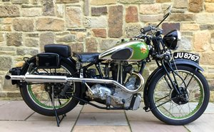 1936 BSA EMPIRE STAR 500 For Sale