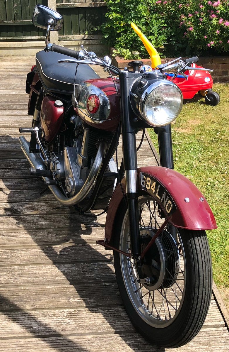 1957 Lovely late 1950s great condition BSA For Sale (picture 2 of 5)
