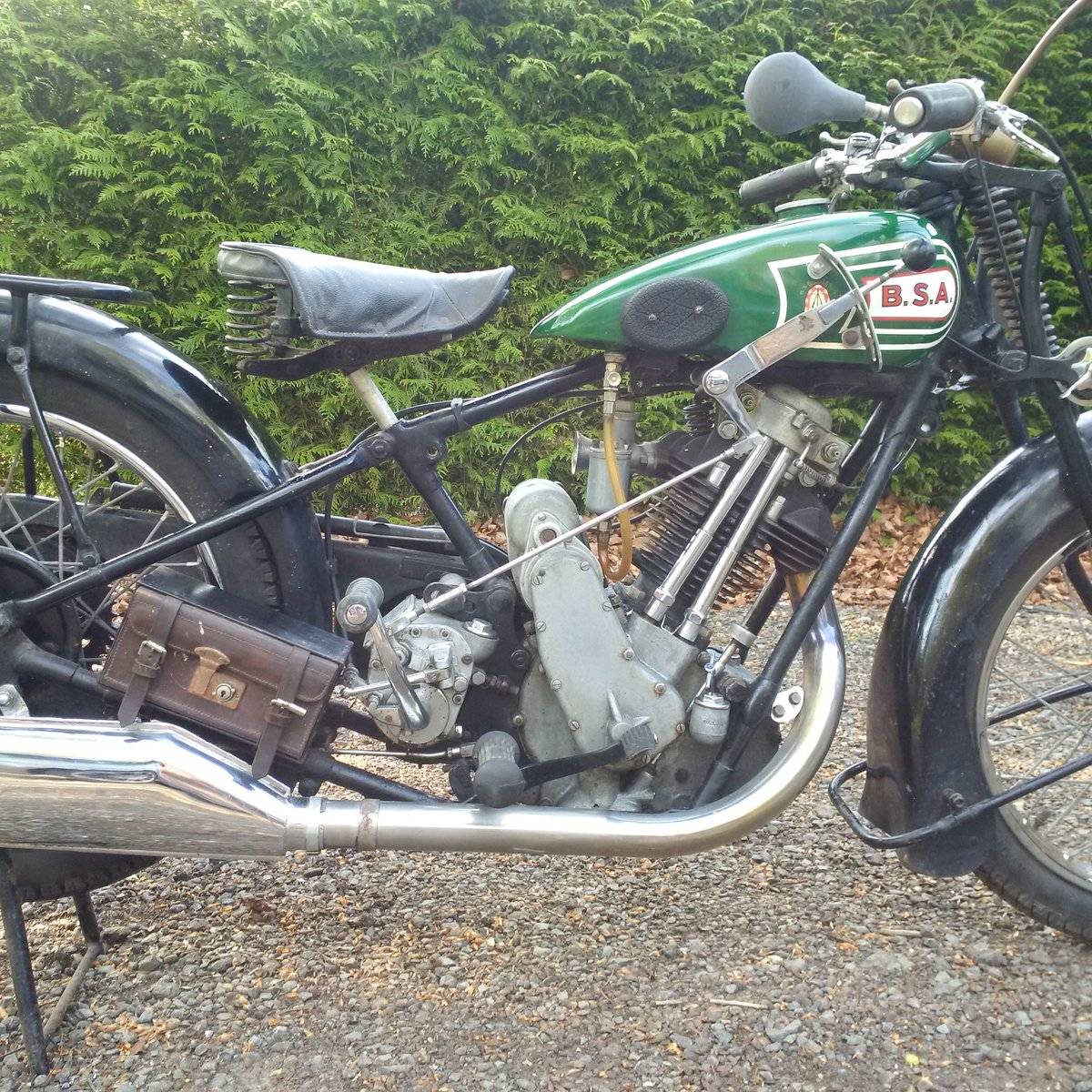 From private classic collection - BSA Sloper 1928 For Sale (picture 2 of 4)