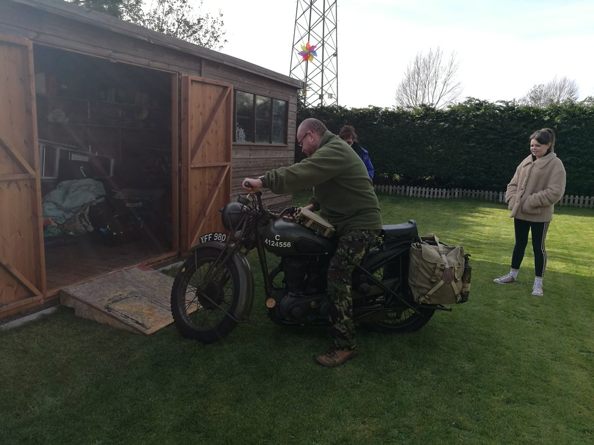 1940 BSA M20 original immaculate condition SOLD (picture 4 of 6)