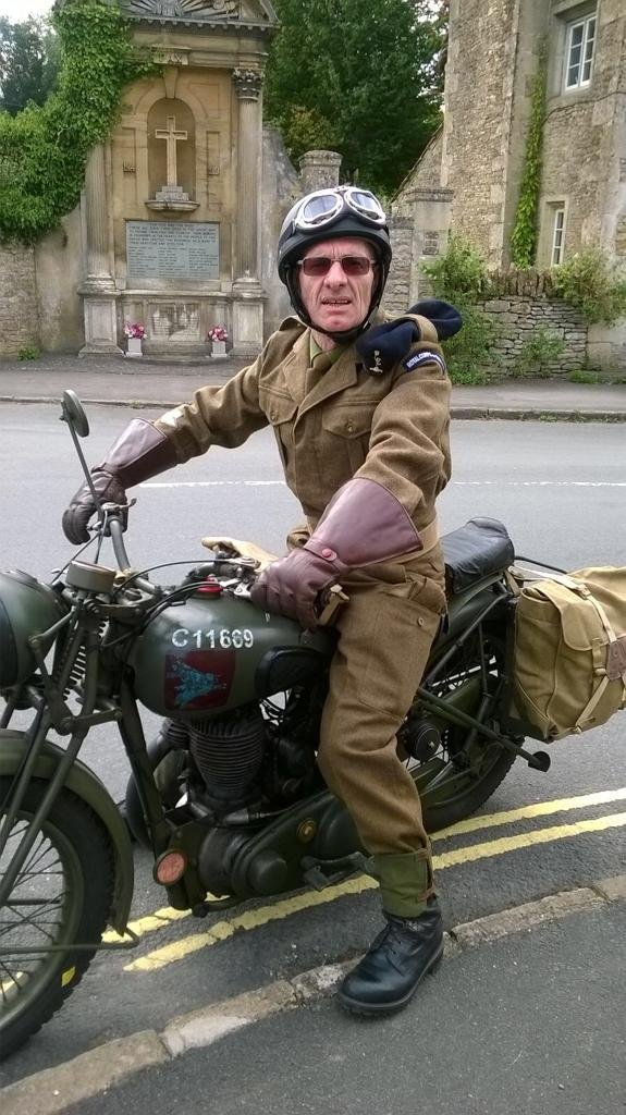 1940 BSA M20 original immaculate condition SOLD (picture 5 of 6)
