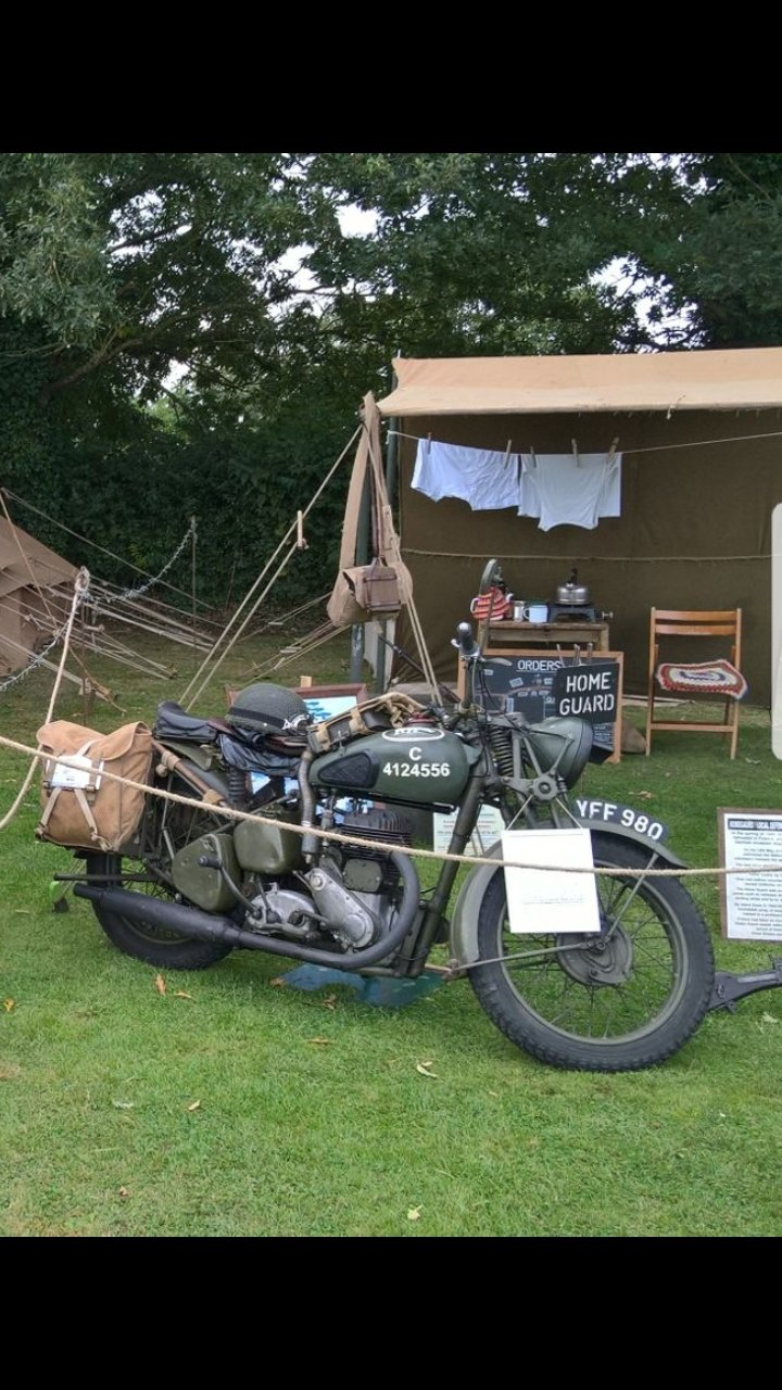 1940 BSA M20 original immaculate condition SOLD (picture 6 of 6)