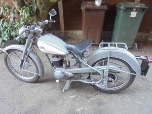 1955 BSA BANTAM 150CC MAJOR VERY NICE BIKE For Sale