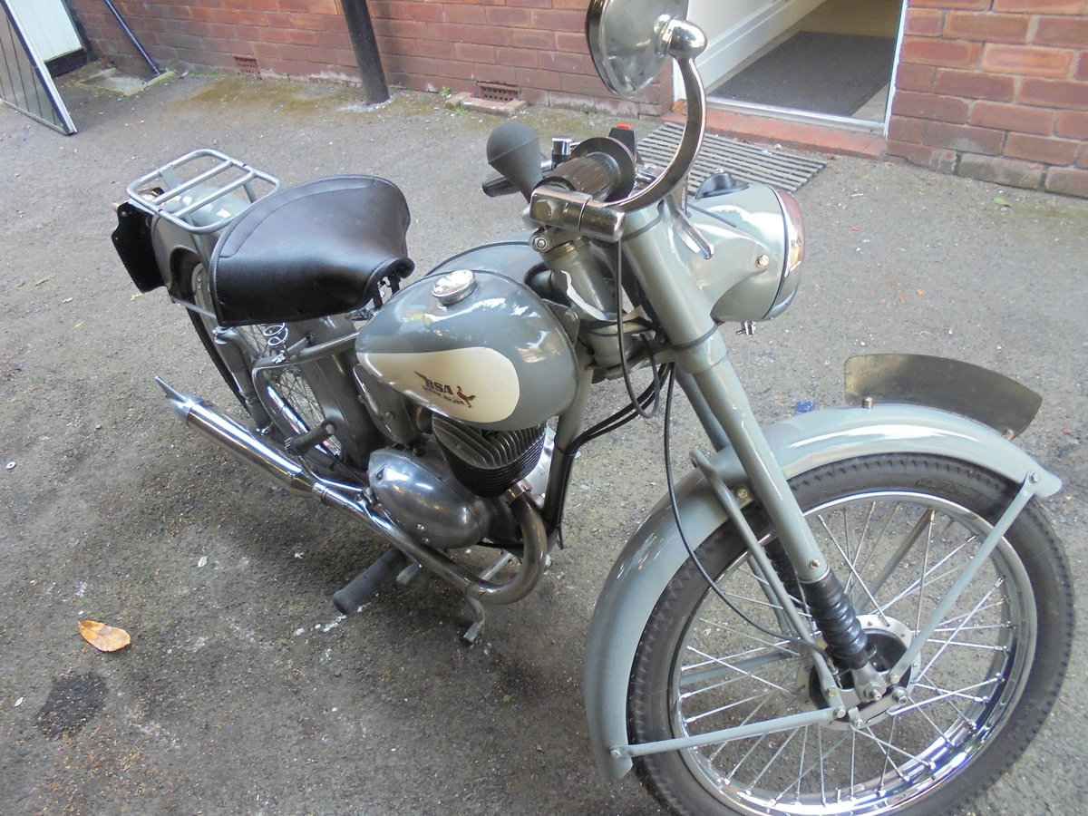 1955 BSA BANTAM 150CC MAJOR VERY NICE BIKE For Sale (picture 3 of 6)