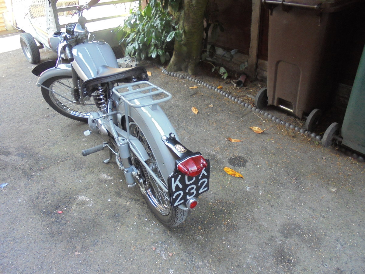 1955 BSA BANTAM 150CC MAJOR VERY NICE BIKE For Sale (picture 5 of 6)
