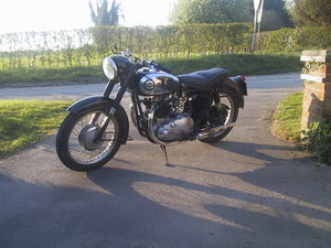 1956 BSA A7 THOUSANDS SPENT ON IT MECHANICALLY For Sale