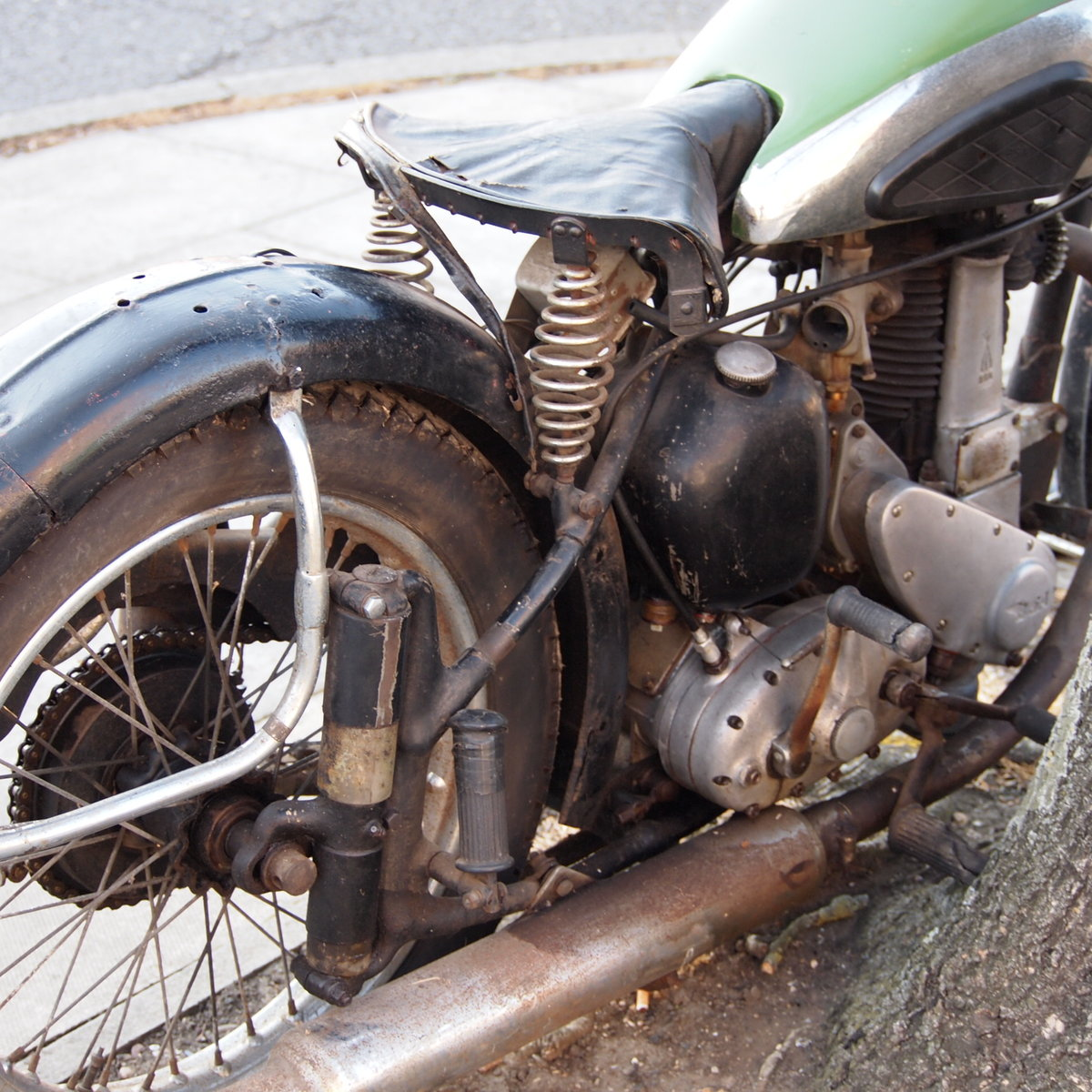 1950 BSA B33 499cc Plunger Not Used For 20 Years. SOLD (picture 5 of 6)