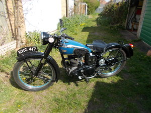 1949 BSA C11 De Lux SOLD