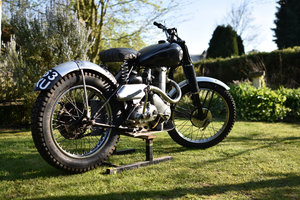 1952 BSA ZB32 TRIALS