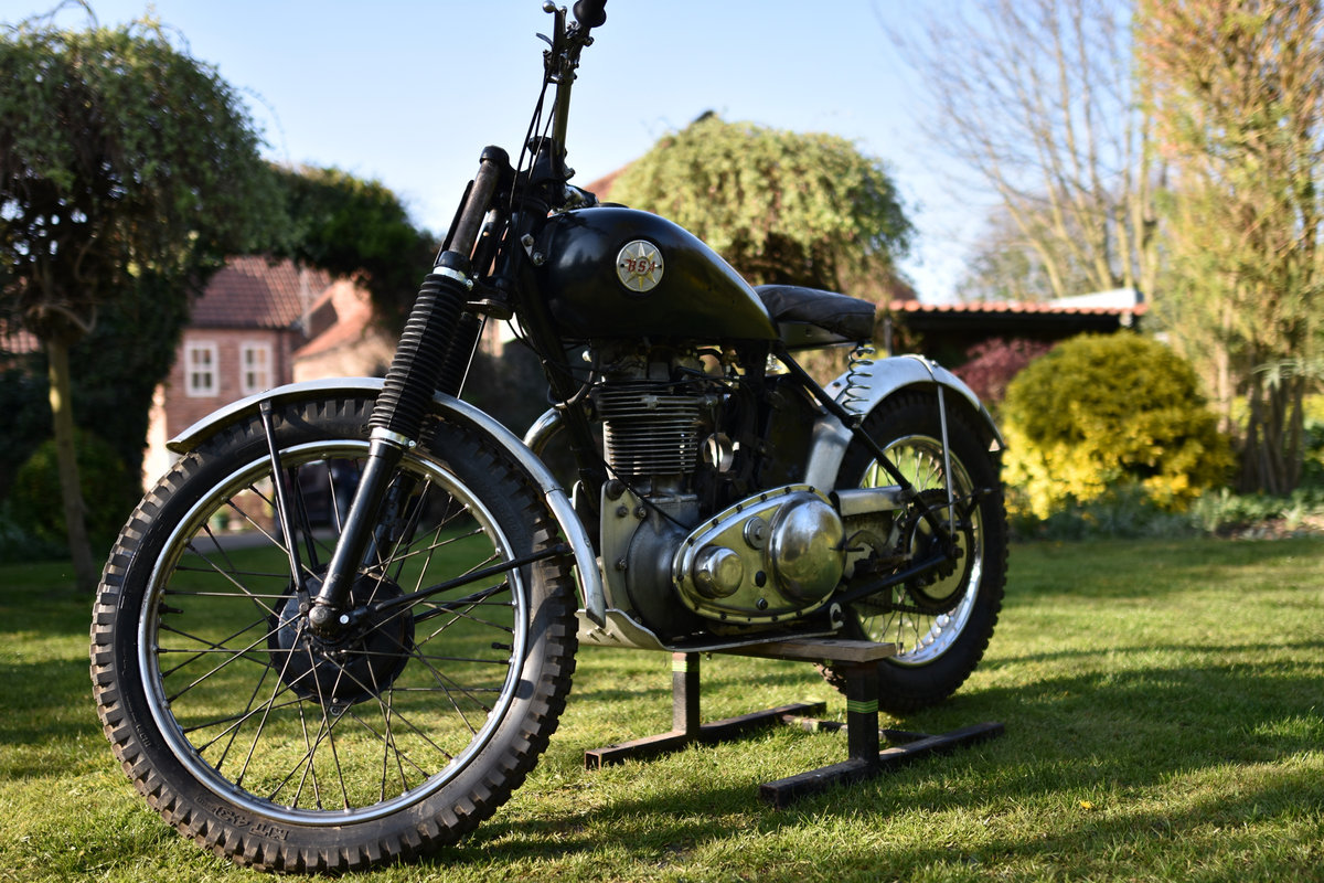 1952 BSA ZB32 TRIALS For Sale (picture 3 of 6)