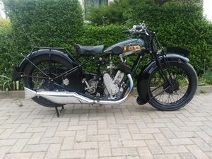 Bsa H30 550cc Sloper - 1930 SOLD