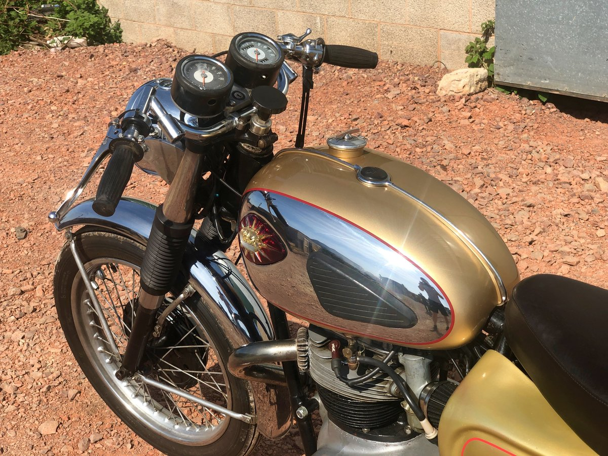 1965 A65L Lightning Clubman Rep 650cc For Sale (picture 5 of 6)