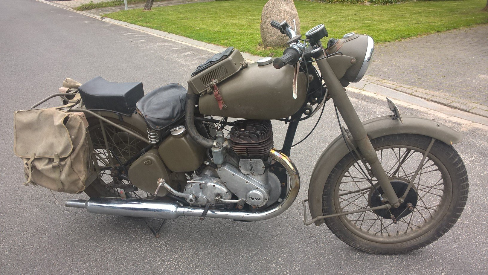 1950 Bsa model m21 swedish army For Sale (picture 1 of 6)