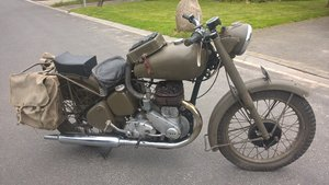 1950 Bsa model m21 swedish army For Sale