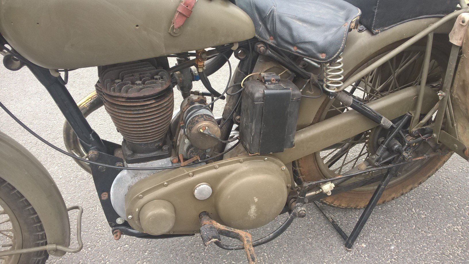 1950 Bsa model m21 swedish army For Sale (picture 3 of 6)