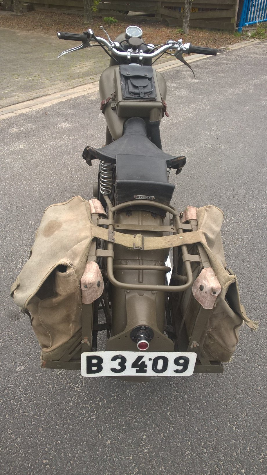 1950 Bsa model m21 swedish army For Sale (picture 6 of 6)