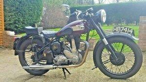 1952 BSA B33. 500cc. Good Runner SOLD