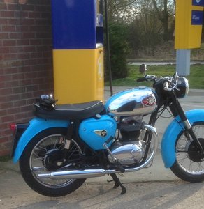 1965 STUNNING BSA A65 STAR TWIN  reduced