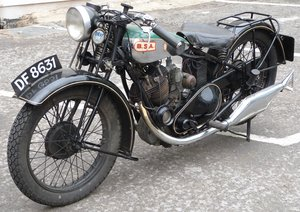 1929 BSA 500cc OHV sloper S30-13