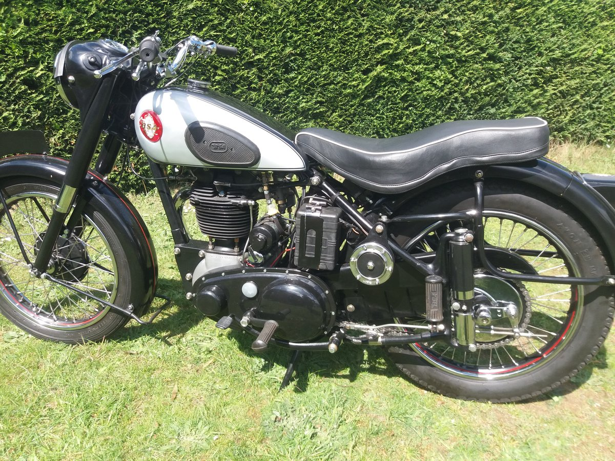 BSA B31 Plunger(1949) For Sale (picture 2 of 6)