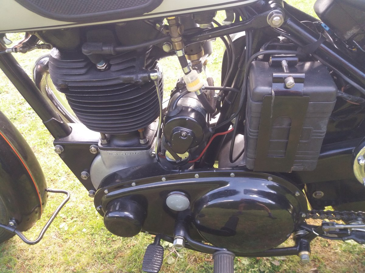 BSA B31 Plunger(1949) For Sale (picture 4 of 6)