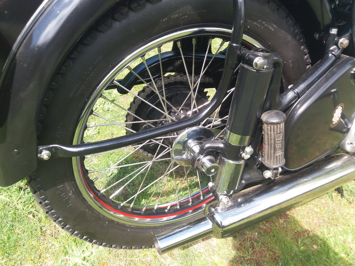 BSA B31 Plunger(1949) For Sale (picture 6 of 6)