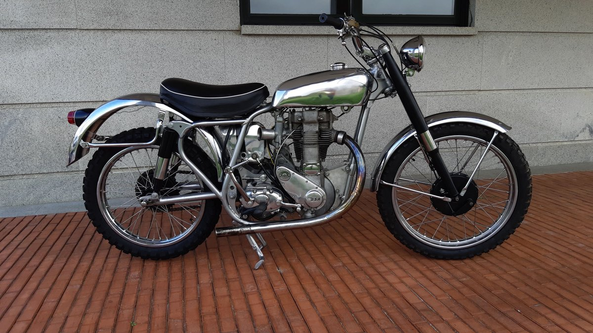 1954 BSA GOLD STAR SCRAMBLER For Sale (picture 3 of 6)