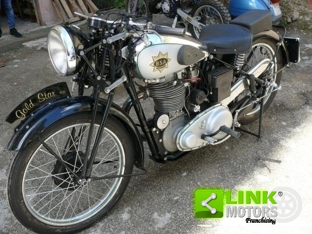 1938 BSA GOLD STAR M24 Prima Serie For Sale (picture 1 of 6)