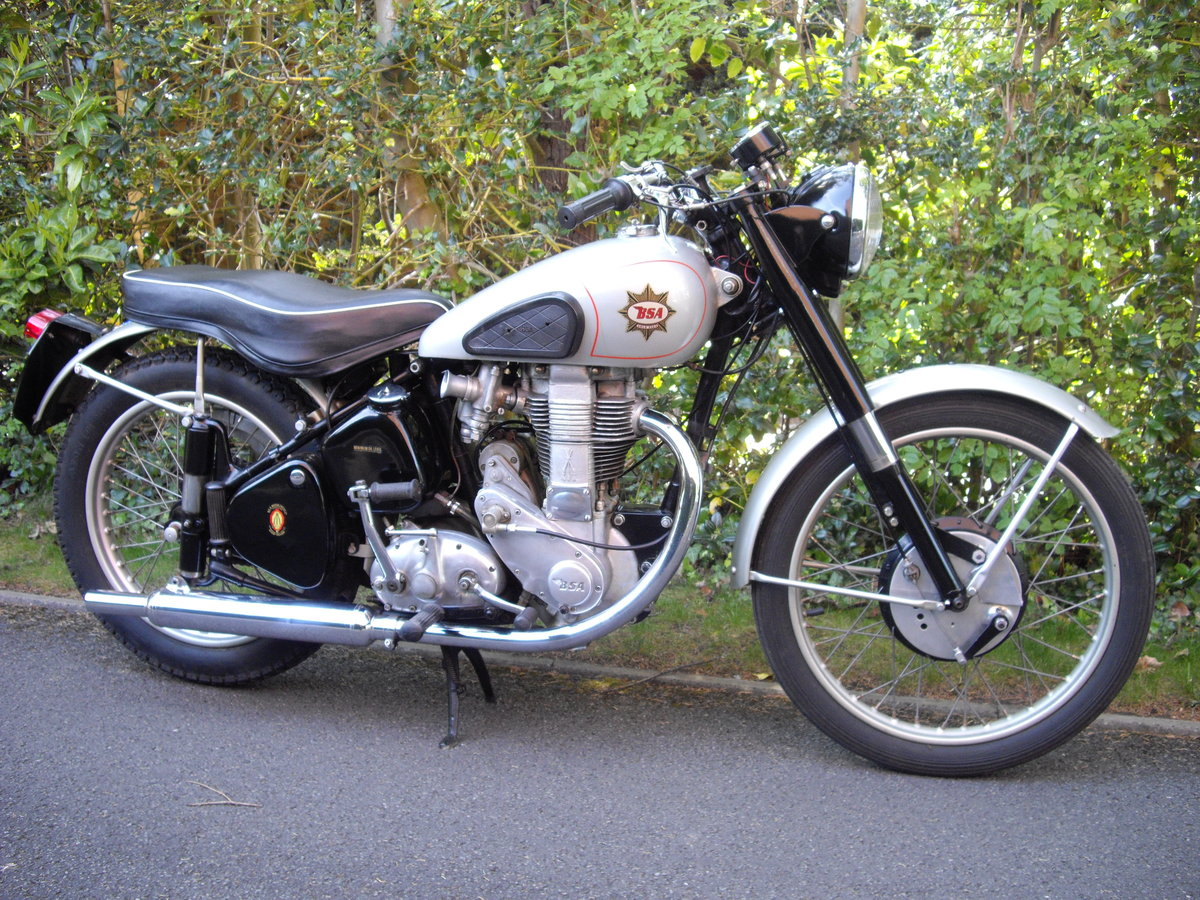 1952 BSA Gold Star ZB32 Clubmans, TT History For Sale (picture 3 of 6)