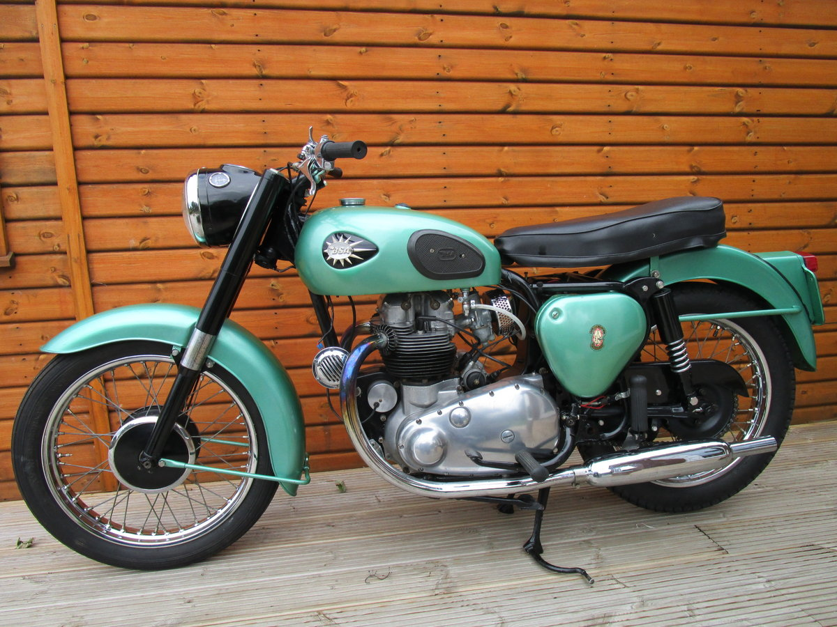 1961 BSA 500 A7 SS  SOLD (picture 2 of 6)