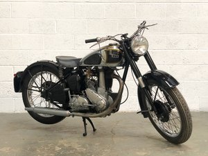 BSA  B33 1947 500 Very Rare Model, Speedo In Tank! For Sale