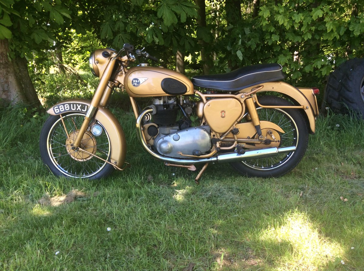 1964 BSA A10 650 cc golden flash 1953  3 owners For Sale (picture 6 of 6)