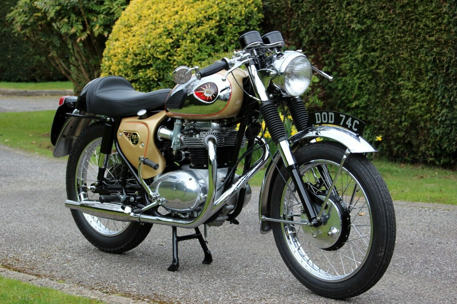 1965 BSA A65 Lightning Clubman For Sale (picture 1 of 6)