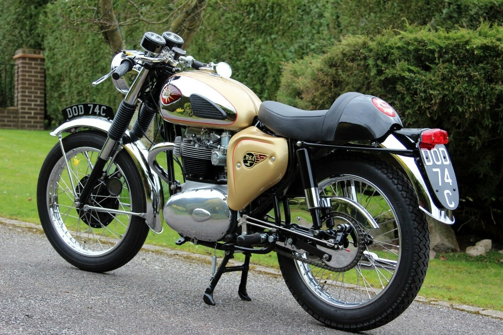 1965 BSA A65 Lightning Clubman For Sale (picture 2 of 6)