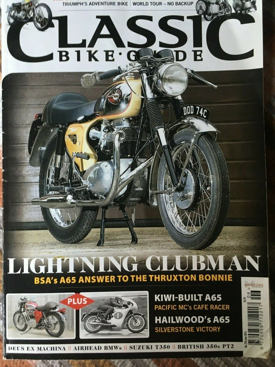 1965 BSA A65 Lightning Clubman For Sale (picture 6 of 6)
