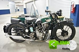 1934 MOTOCICLO BSA SLOPER DELUXE CON SIDECAR For Sale
