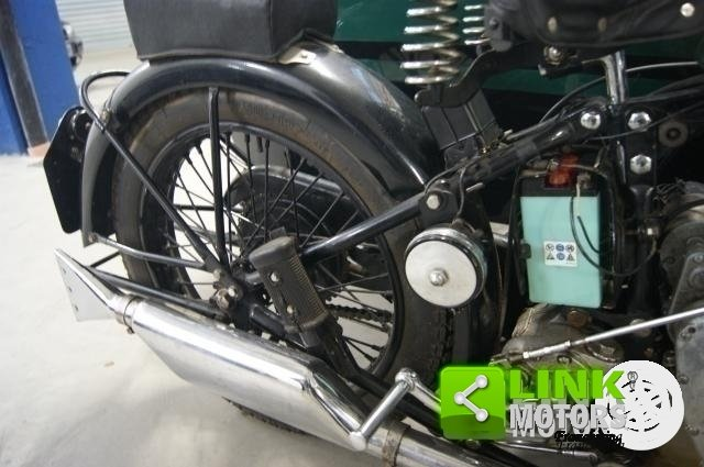 1934 MOTOCICLO BSA SLOPER DELUXE CON SIDECAR For Sale (picture 5 of 6)
