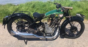 1927 BSA SLOPER 500CC OHV For Sale