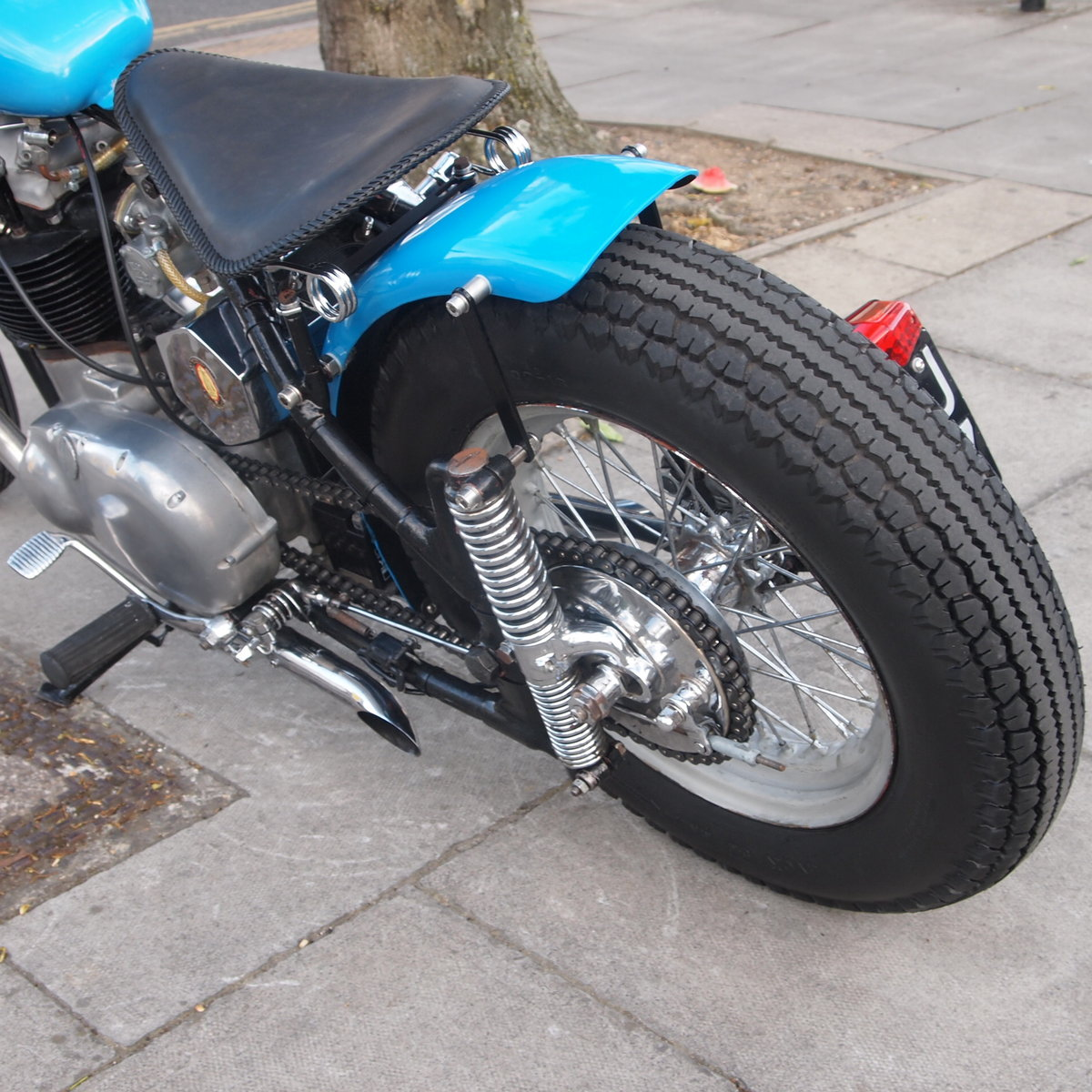 1955 A10 Gold Flash 650cc Bobber. RESERVED FOR DAVID. SOLD (picture 6 of 6)