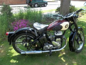 1955 BSA M20 For Sale