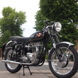 1961 BSA Tribsa With Triumph Alloy T100 Competion Motor. For Sale