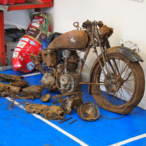 1938 Rare Rudge Rapid 250 RESERVED FOR ROBERT. SOLD