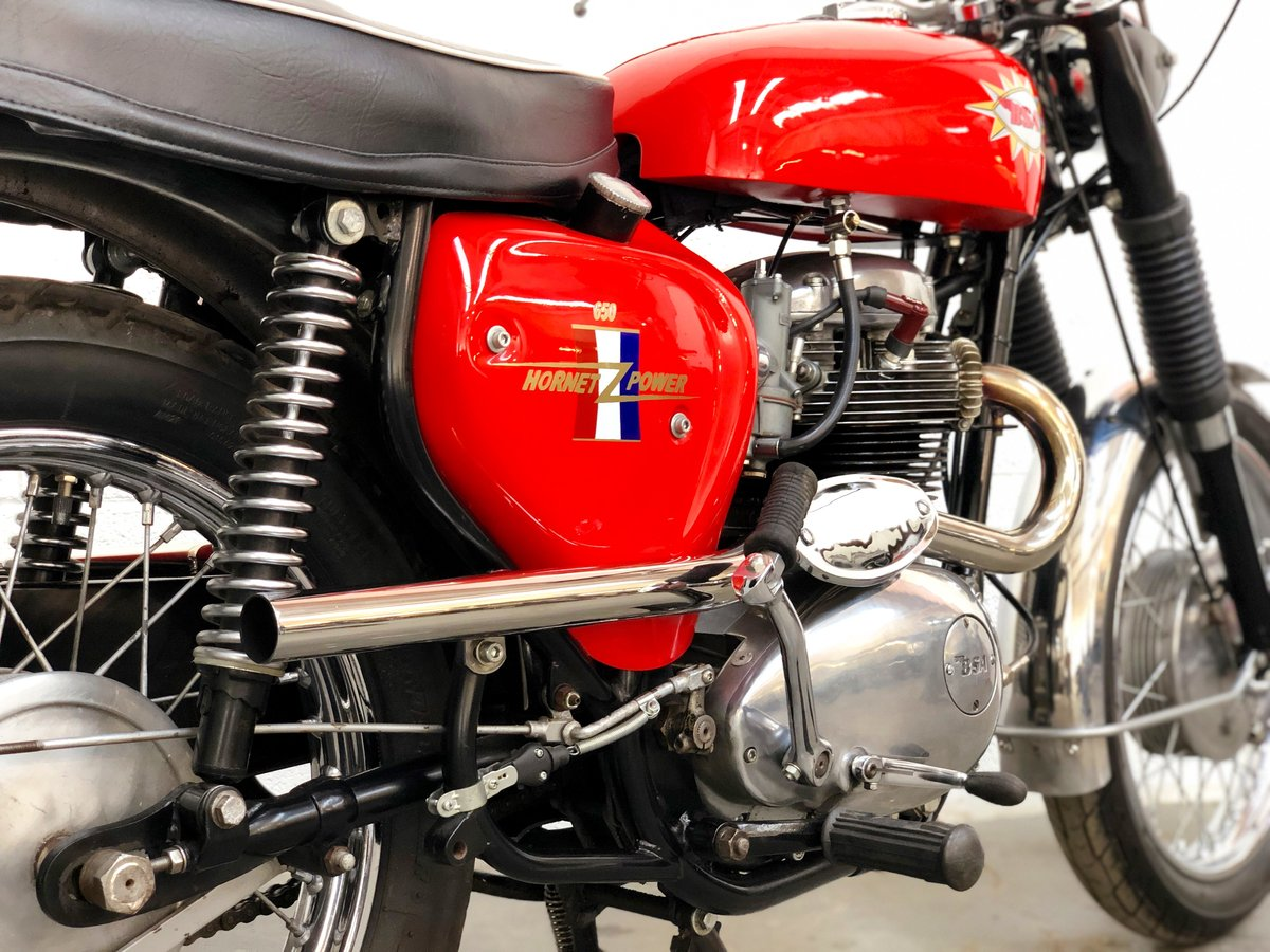 BSA Hornet Replica 1965 650cc Excellent Condition  SOLD (picture 5 of 6)